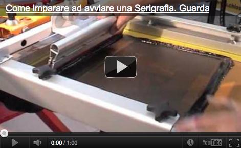Il video-promo del Corso Avanzato di Serigrafia di Angelo Barzaghi