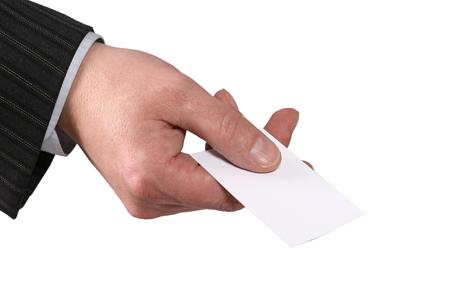 Stampare biglietti da visita in oro e argento