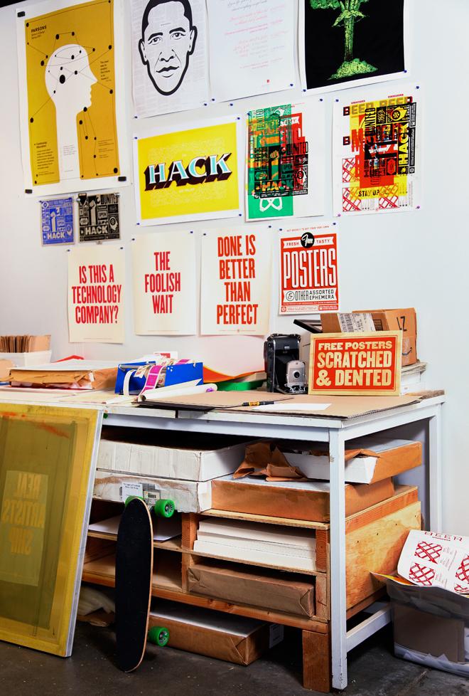 il laboratorio di serigrafia di facebook