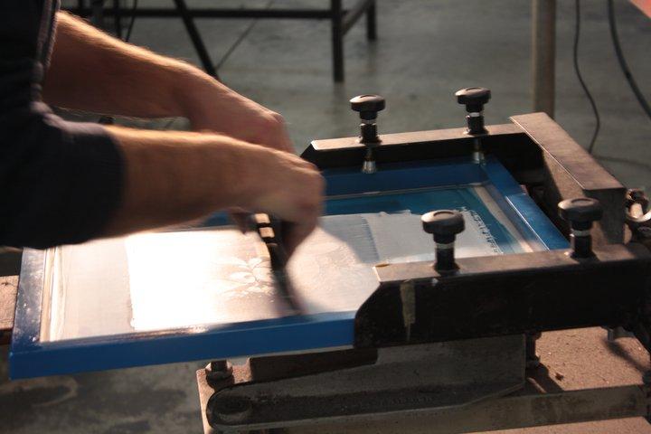Accorgimenti per evitare che l'inchiostro asciughi sul telaio