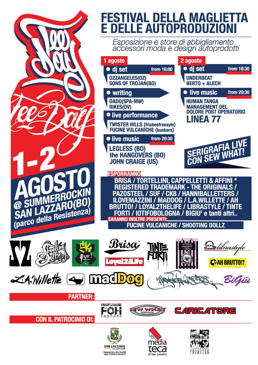 tee day festival della t-shirt bologna