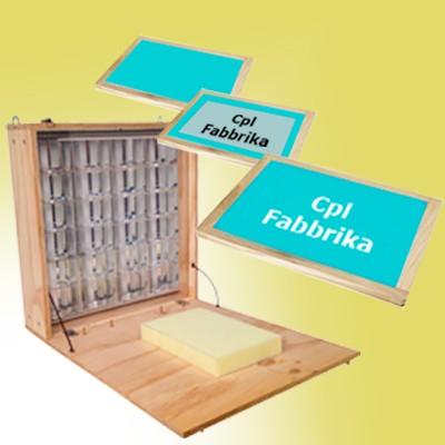 Arrivano i Kit economici per emulsionare ed incidere telai a casa