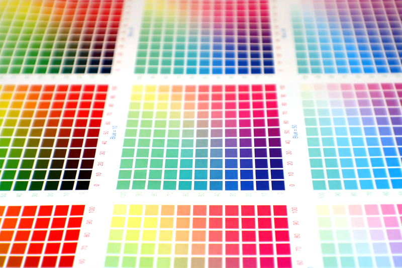 Serigrafia. Come ottenere nuovi colori miscelando gli inchiostri esistenti