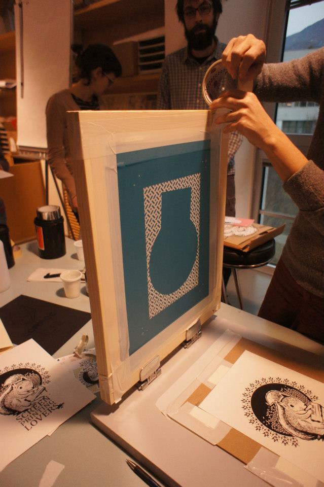 workshop di serigrafia a bolzano