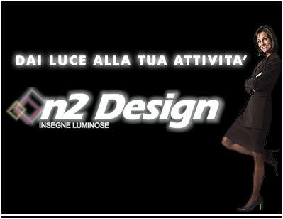 Laboratorio n2 Design di Roma. Insegne Luminose e Stampa digitale