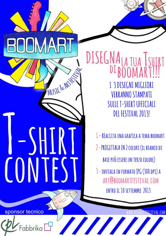 Boomart - T-shirt Contest