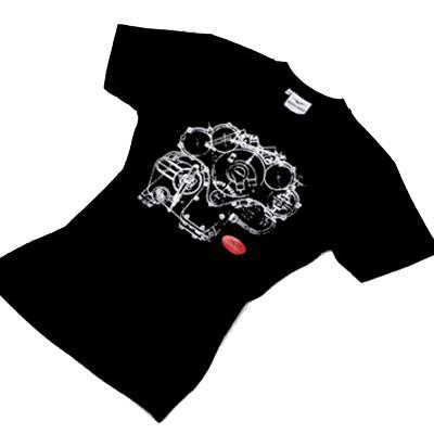 Stampare magliette scure con mano morbida in serigrafia