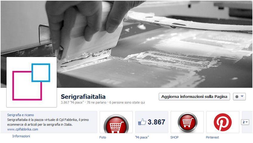 ecommerce in magento su pagina facebook