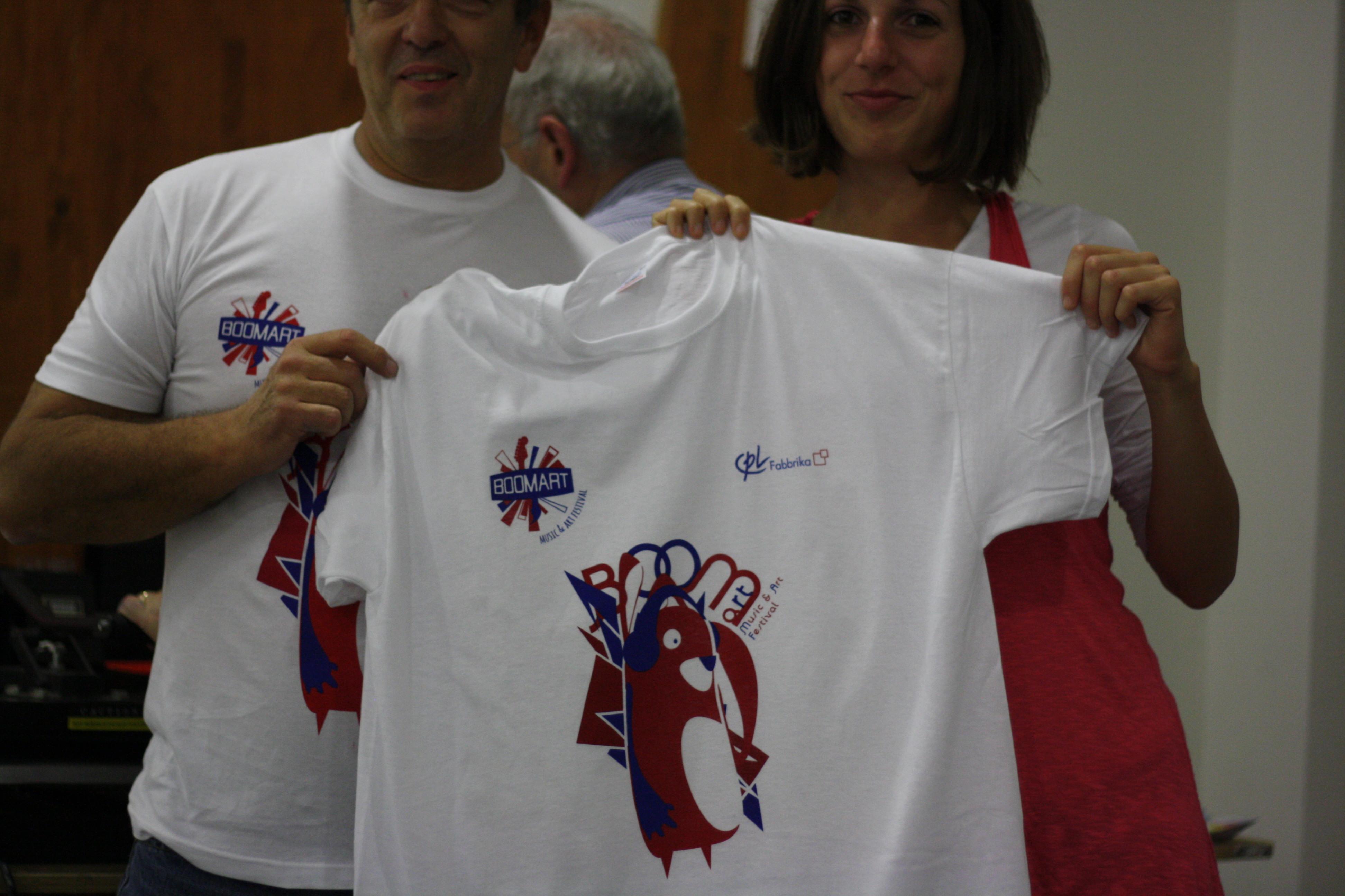 2 possibilità per stampare su t-shirt in serigrafia