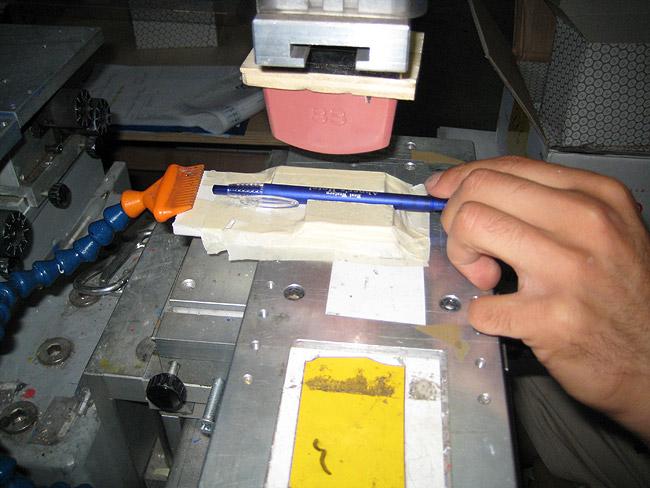 Tampografia. Calcolare l'area stampabile di una penna