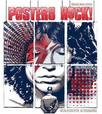 Posters Rock! A Roma gli artisti della Poster Art Internazionale
