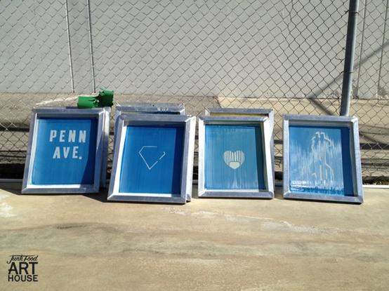 Come usare i sali di strippaggio per recuperare un telaio serigrafico