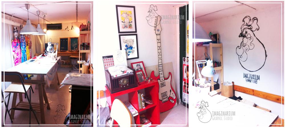 Laboratorio di grafica, illustrazione e serigrafia a Viareggio