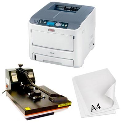 Trasferire foto e immagini su oggetti con una termopressa e una stampante laser