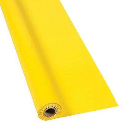 Telaio con tela gialla e tempi d'esposizione