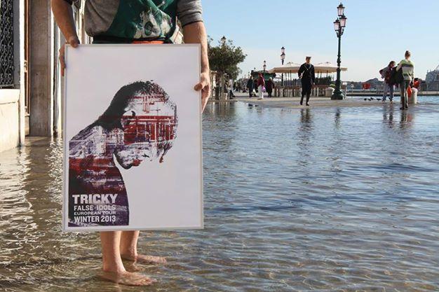 small caps stampa poster venezia