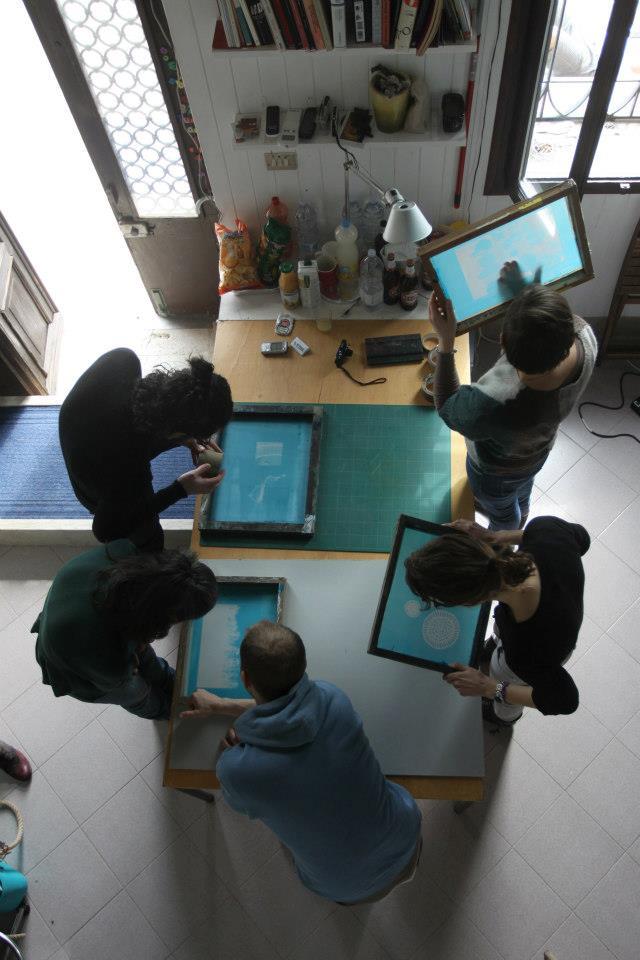 workshop di serigrafia a venezia