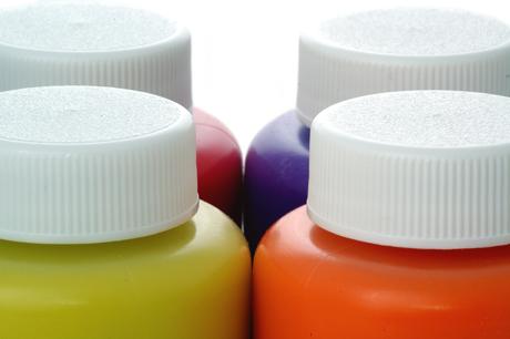 Miscelare inchiostri all'acqua con diverse formulazioni