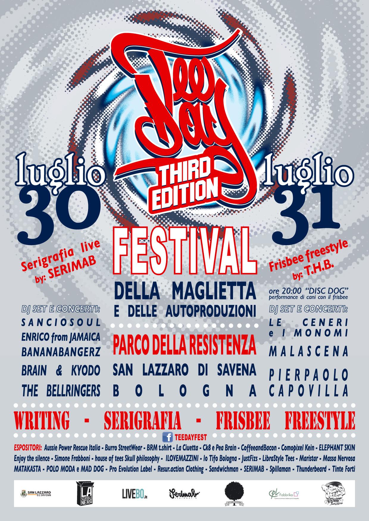 tee day festival della maglietta a bologna
