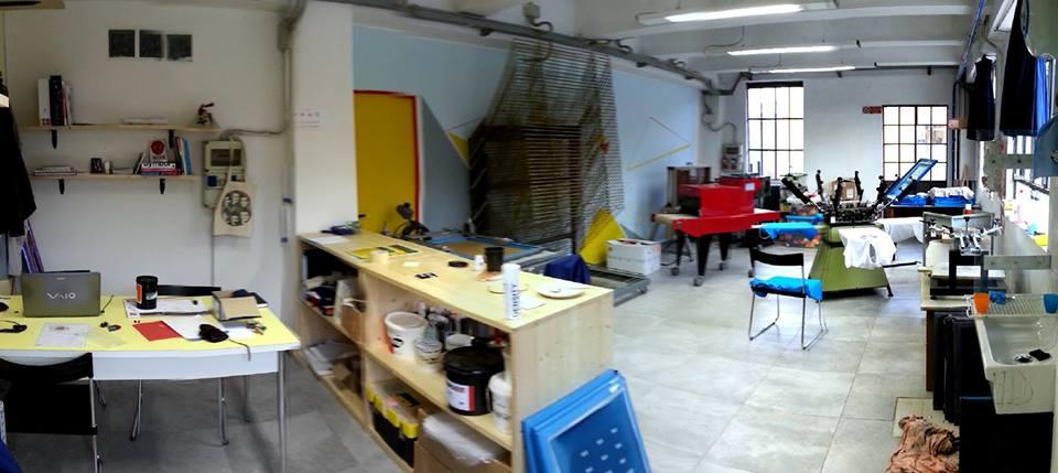 laboratorio tantemani serigrafia a Bergamo