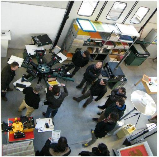 Impariamo a stampare. Corsi di serigrafia di Accademia Serigrafica di settembre.