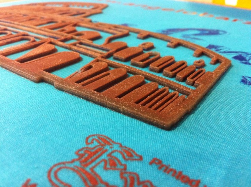 Ottenere telai serigrafici per stampe a spessore