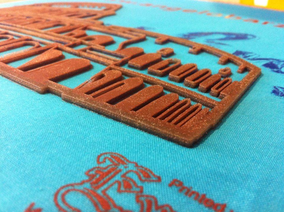 telaio e stampa a spessore in serigrafia