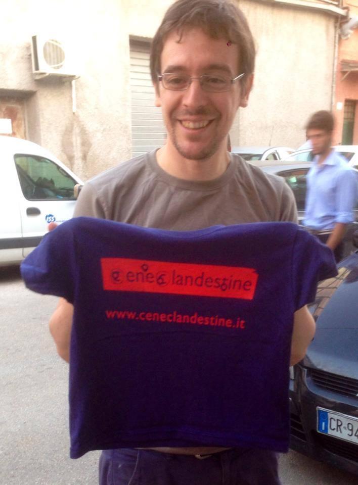 tshirt stampate dalla serigrafia straight to hell Roma