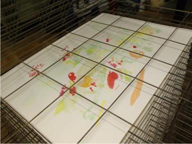 Come rendere semicoprenti gli inchiostri ad acqua per fare stampe artistiche
