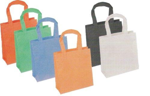 Stampare una scritta su sacchetti in TNT. Inchiostro e attrezzatura