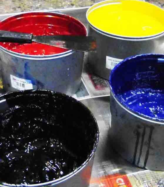 Come asciugare gli inchiostri per serigrafia