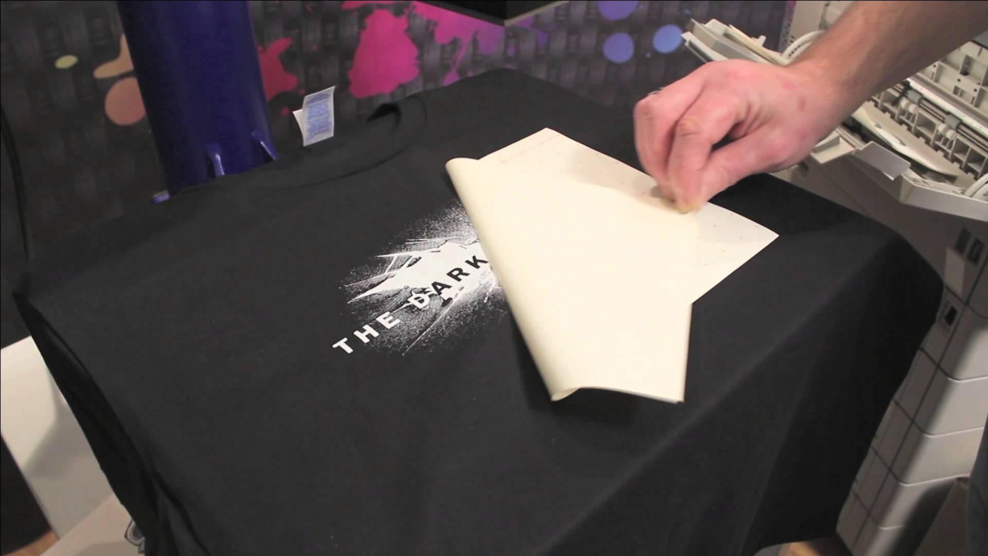 come stamapre con il transfer laser su tshirt