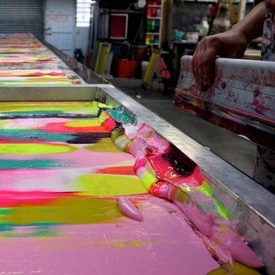 Come evitare che l'inchiostro ad acqua secchi sul telaio
