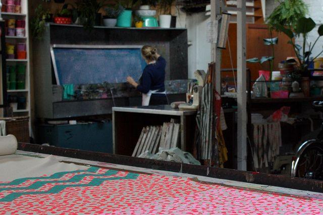 Laboratorio serigrafico e smaltimento dei residui di lavorazione