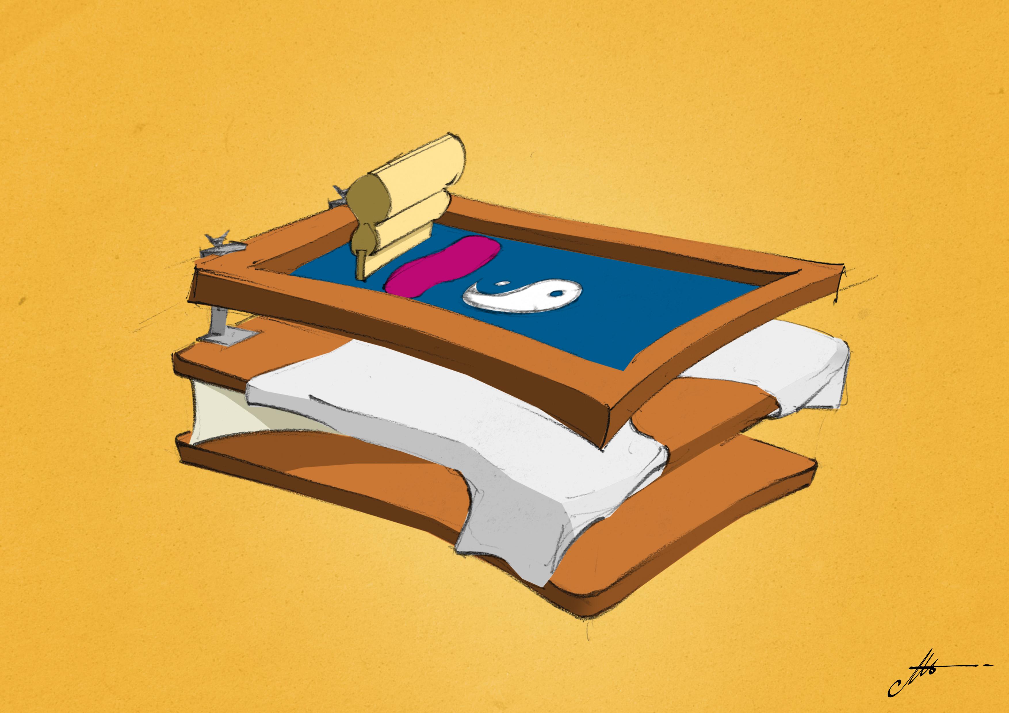 serigrafia stampa inchiostro su magliette