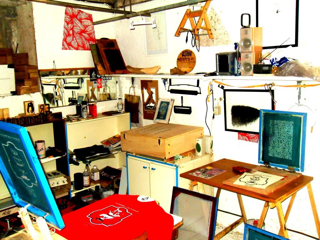 laboratorio artigianale di serigrafia zenor