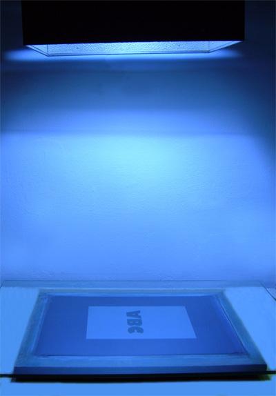 Caratteristiche del kit per incisione dei telai a luce UV