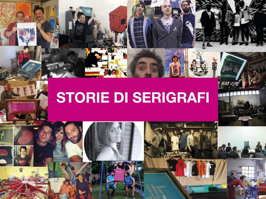 Un ebook gratuito con le Storie dei Serigrafi italiani
