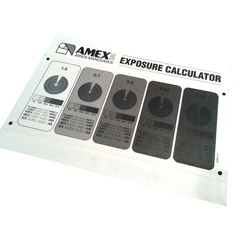 Come usare il calcolatore di esposizione per serigrafia