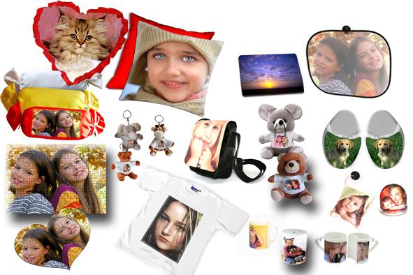 Oggetti con foto applicazione per smartphone for Oggetti da regalo