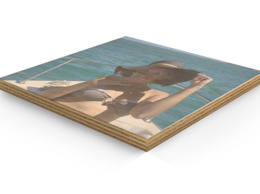 Come trasferire immagini su legno