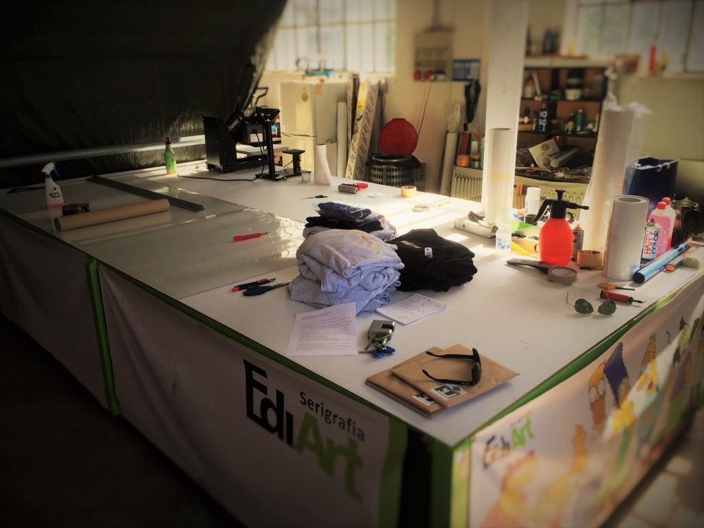 laboratorio di stampa EdiArt a Pavia