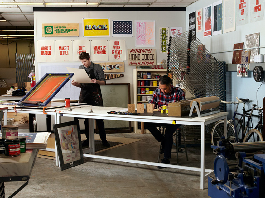 Allestire un piccolo laboratorio di serigrafia con poco (spazio e denaro)