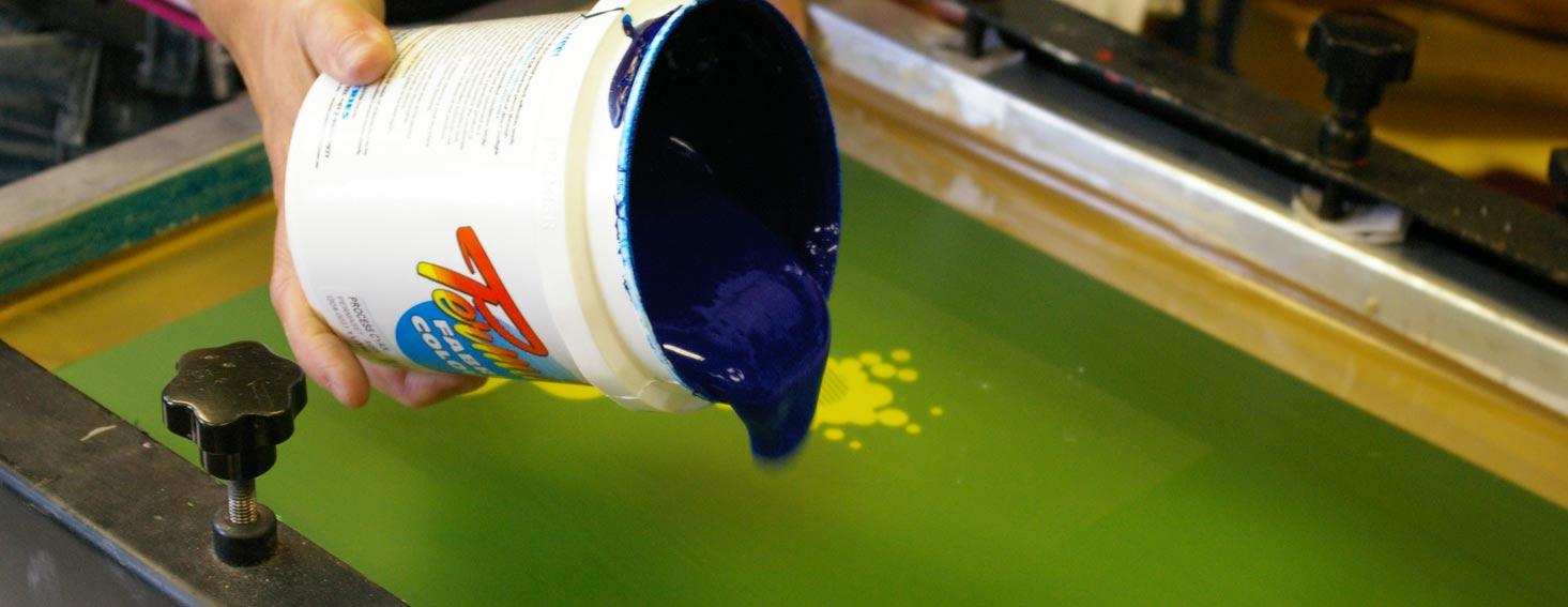 inchiostri ad acqua serigrafia