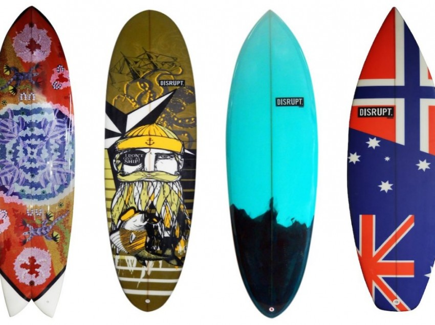 Serigrafia su Tavole da Surf. Sai come si fa?