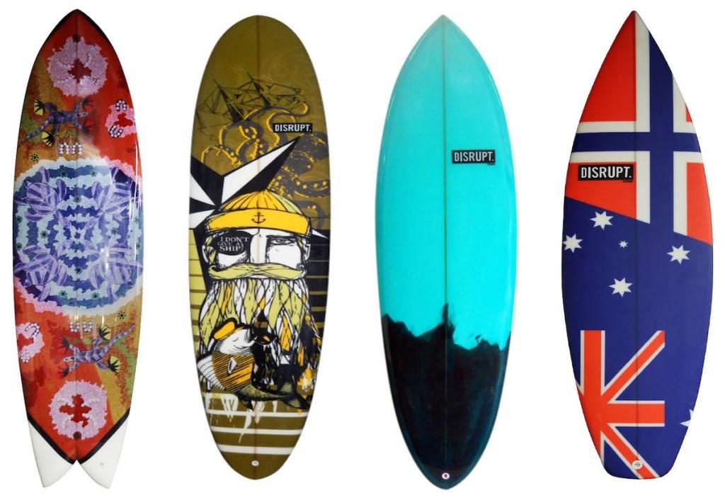 serigrafia tavole da surf