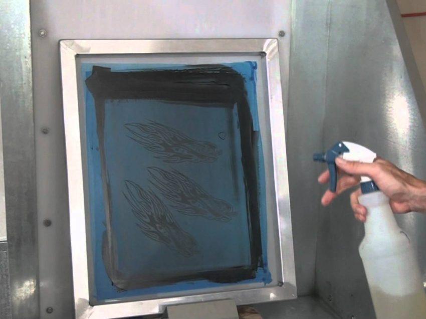Serigrafia: la normativa per il lavaggio dei telai