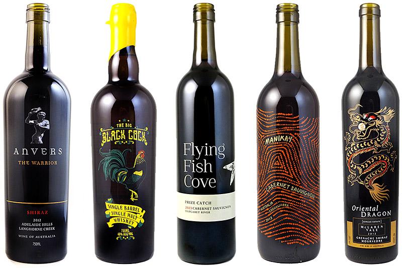 serigrafia bottiglie vino