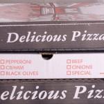 stampare sul cartone della pizza in serigrafia
