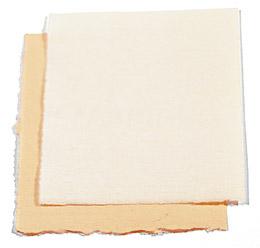 stampare in serigrafia su carta cotone